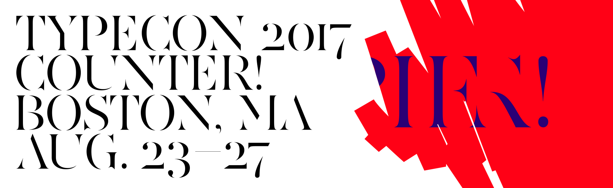 TypeCon2017 | Presented by the Society of Typographic Aficionados
