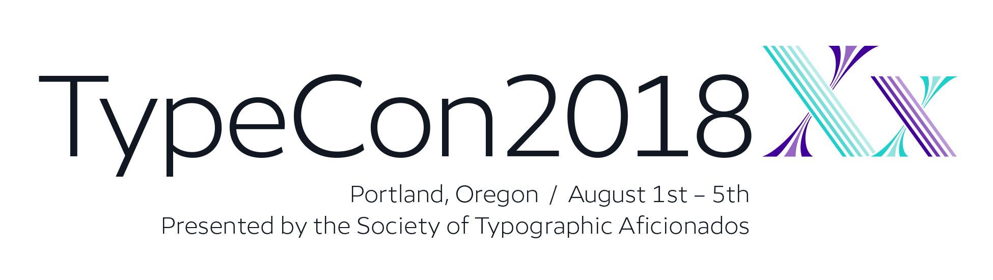 TypeCon2018 | Presented by the Society of Typographic Aficionados
