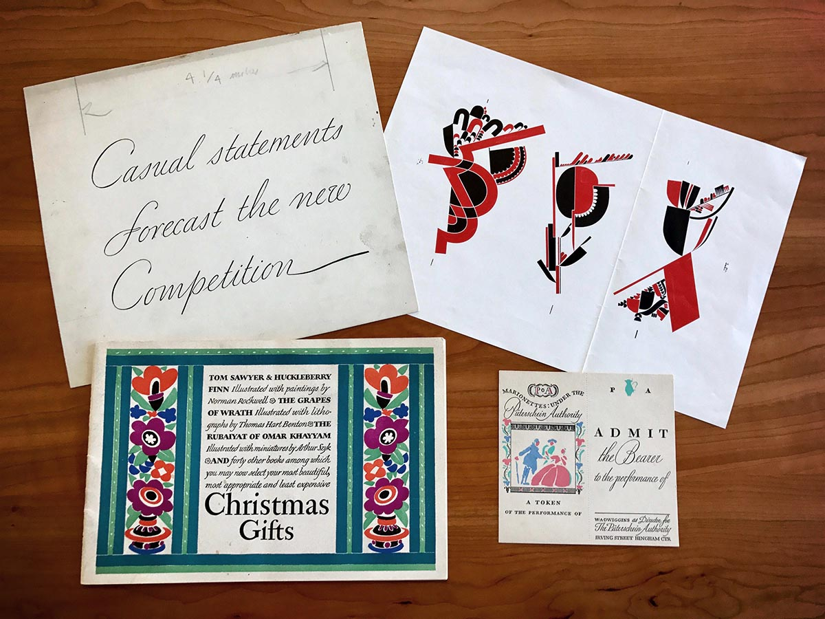 Letterform Archive Dwiggins Ephemera