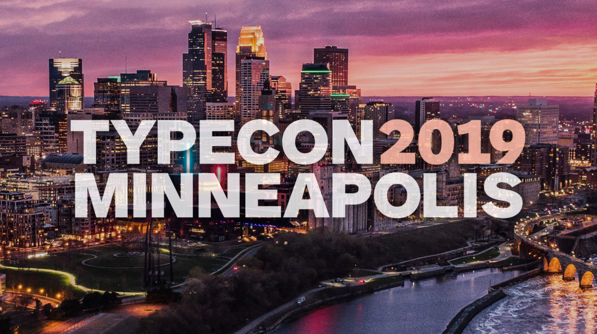 TypeCon 2019 Minneapolis
