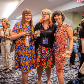 Chloë Miller, Dot Dodd, Amy Redmond, TypeCon2018