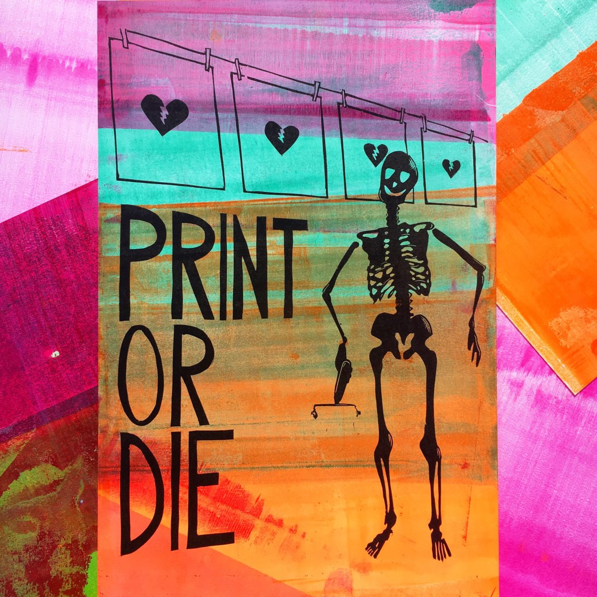 """Print or Die"" by Mary Bruno"