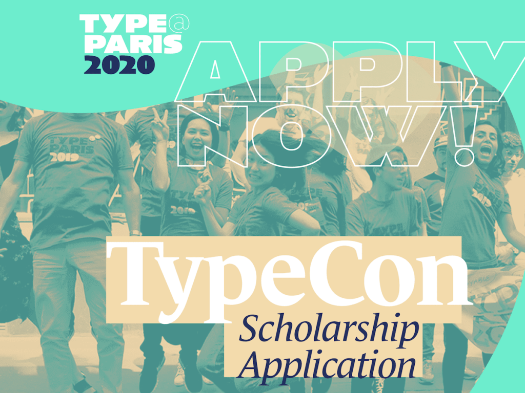 TypeCon & SOTA Scholarship for TypeParis20